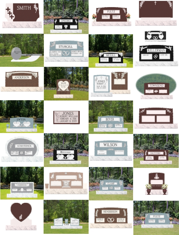 Online Monument Designer Samples