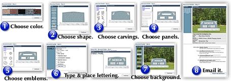 Online Monument Designer